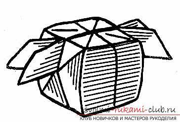 Hoe maak je handgemaakte artikelen in de klassieke origami, het maken van een kerstboom in de techniek van modulaire origami .. Foto # 31