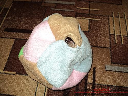 Sewing soft ball for baby. Photo №5