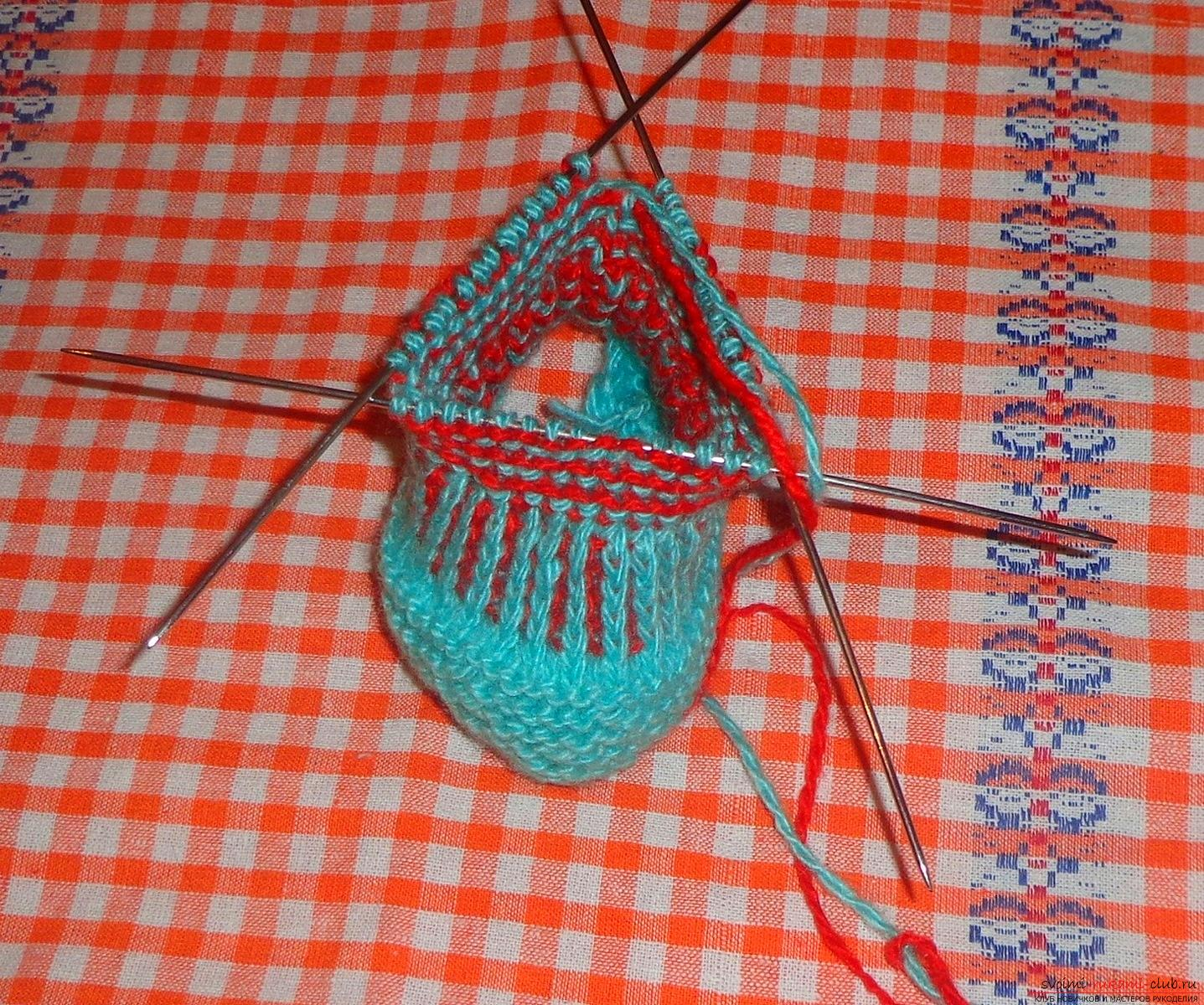 Lesson on knitting pinets with a detailed description of steps and photos. Photo №8