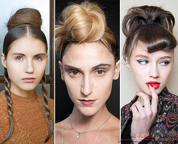 We learn to make a stylish hairstyle for 2016 with our own hands. Photo №13