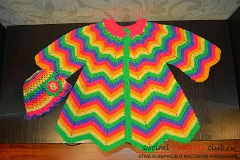 How to crochet multicolored