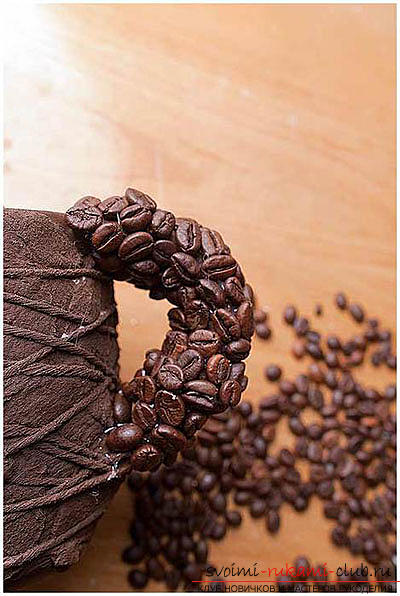 How to make from coffee beans original handmade items in the form of paintings, panels,