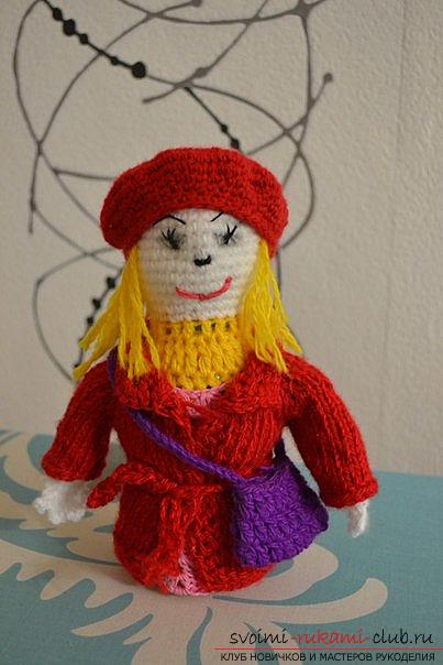 master class with a photo will teach the making of a self-made toy - dolls with their own hands. Photo №1