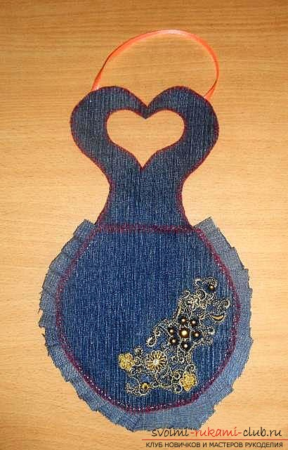 We sew an apron step by step. Photo №13