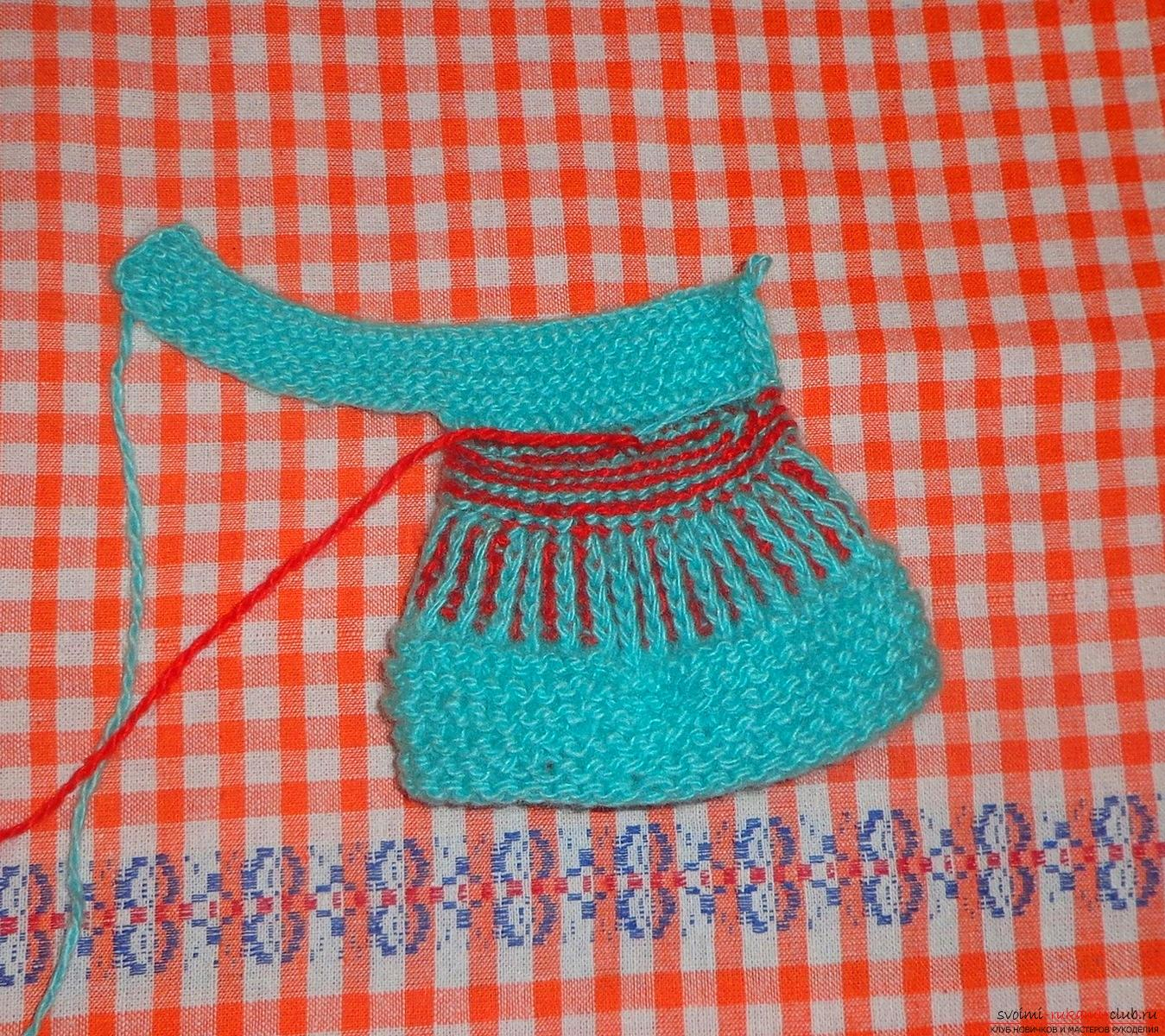 Lesson on knitting pinets with a detailed description of steps and photos. Photo №13