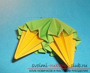 Free master classes for creating modular origami balls, step-by-step photos and description .. Photo # 37