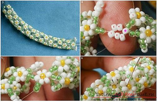 Free schemes and master classes with a photo on weaving baubles of beads and beads .. Photo №6
