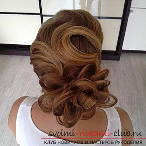 A lot of wedding hairstyles for 2016 with their own hands. Photo number 16