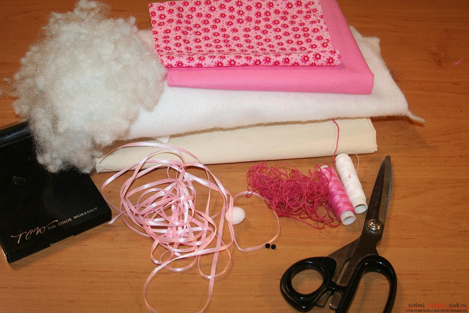 A master class on the creation of a New Year's doll will help to make a hare to Tilda with his own hands. Photo # 2