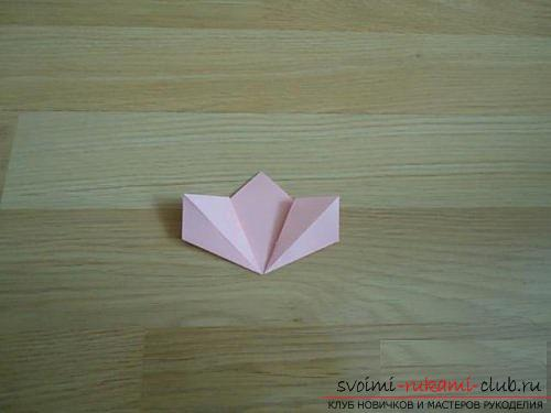 Free master classes on creating modular origami balls, step-by-step photos and description .. Photo # 5
