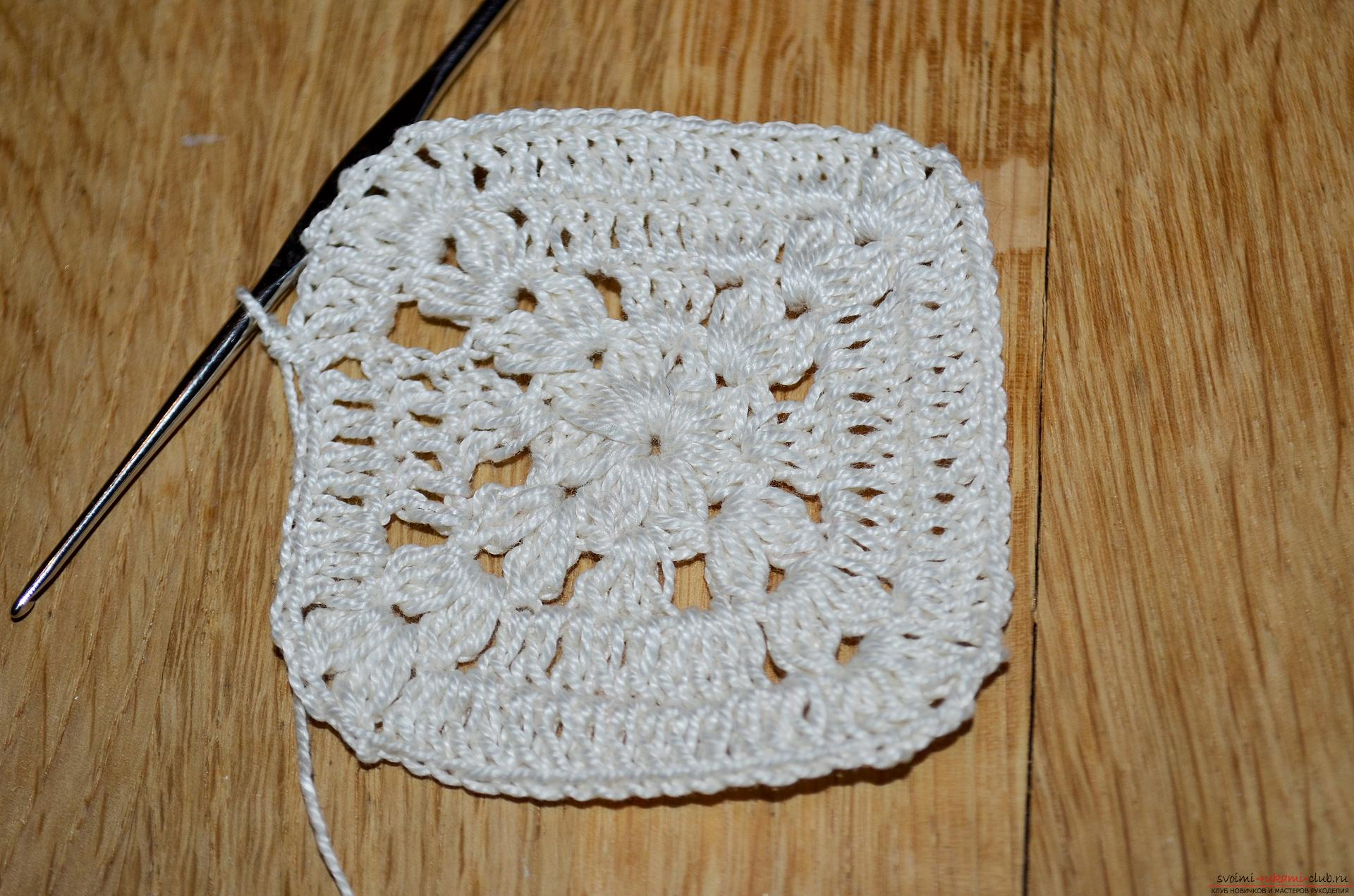 A crocheting lesson for the original cushion-needle bed with step-by-step recommendations and photos. Picture №10