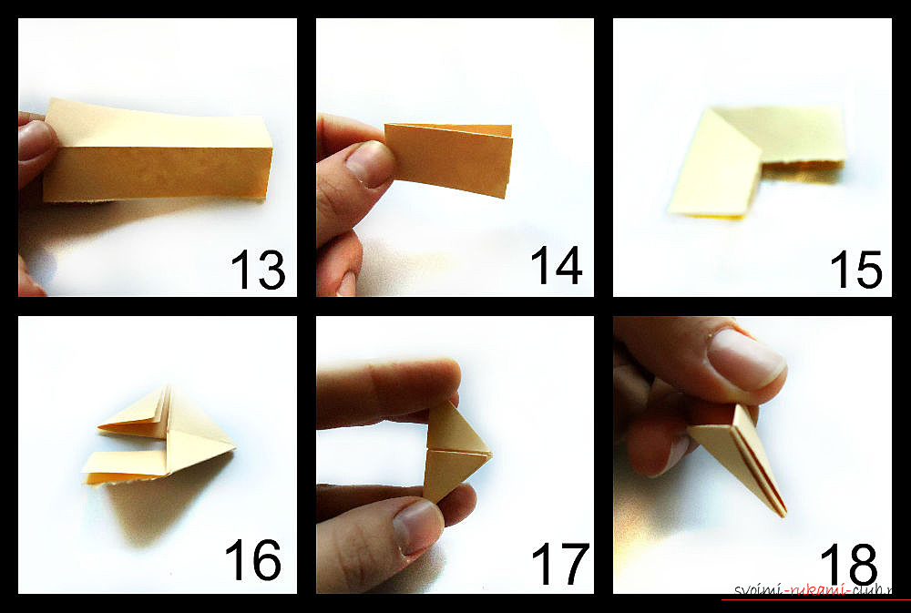 оригами нарцис. Снимка №3