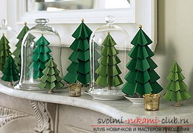 Master-class on making a tree of paper with your own hands. Photo №1