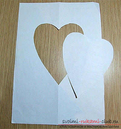Gifts for Valentine's Day with their own hands, various variations of making Valentine's cards with their own hands, a magnet in the form of a heart as a gift to a loved one .. Photo №1