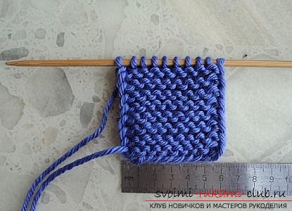 We learn to knit slippers with two knitting needles. Picture №3