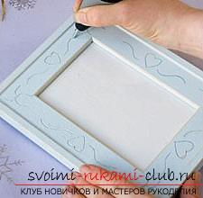 How to make an original photo frame by engraving. Photo №4