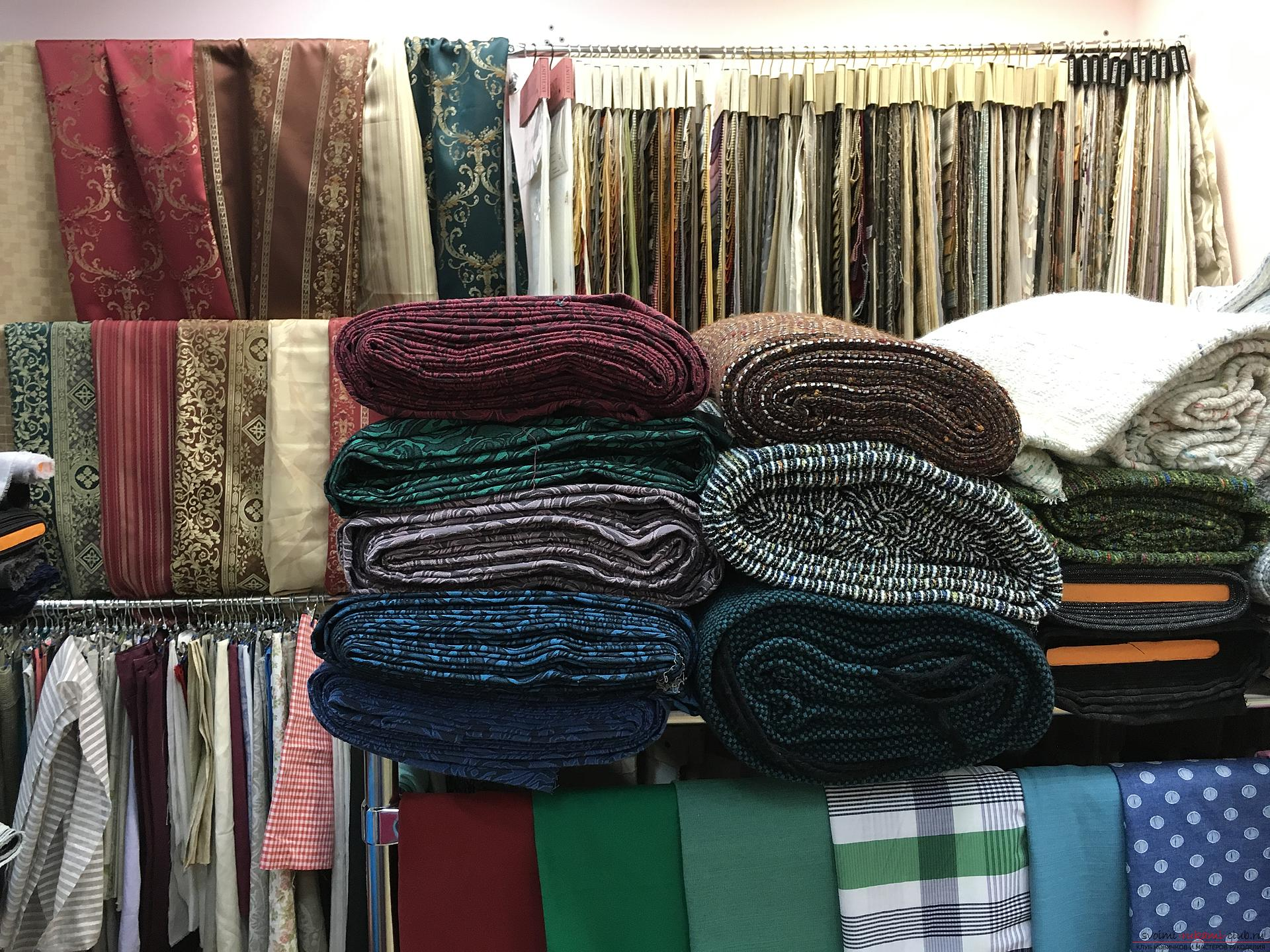 I'll go - the largest fabric store. More than 10,000 fabrics. Italy, Korea, China, Russia, Belarus .. Picture №3