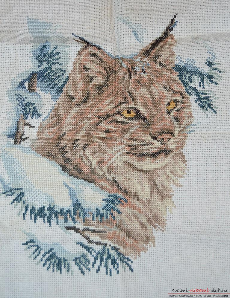 Cross-stitch embroidery is one of the earliest types of needlework, especially beautiful paintings that are embroidered with a cross .. Photo №1