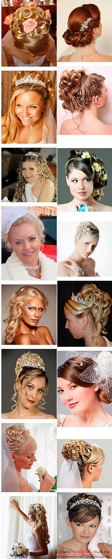 Master the mastership of creating hairstyles for the bride with your own hands. Picture №3