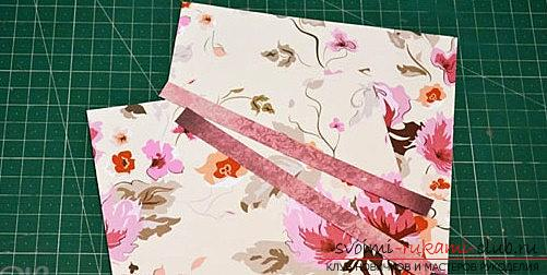Scrapbooking postcards for birthday present - multilayer postcard. Photo # 2