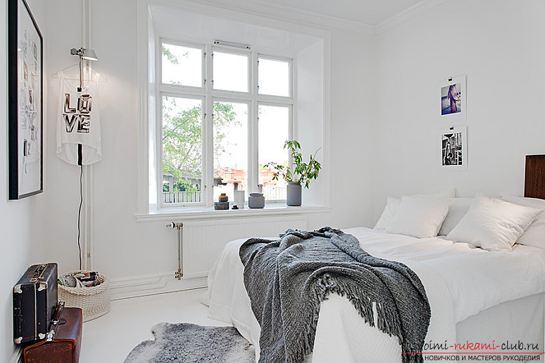 The way to make a Scandinavian interior of the house with your own hands for an apartment? Ways of implementation, ideas and photos .. Photo # 2