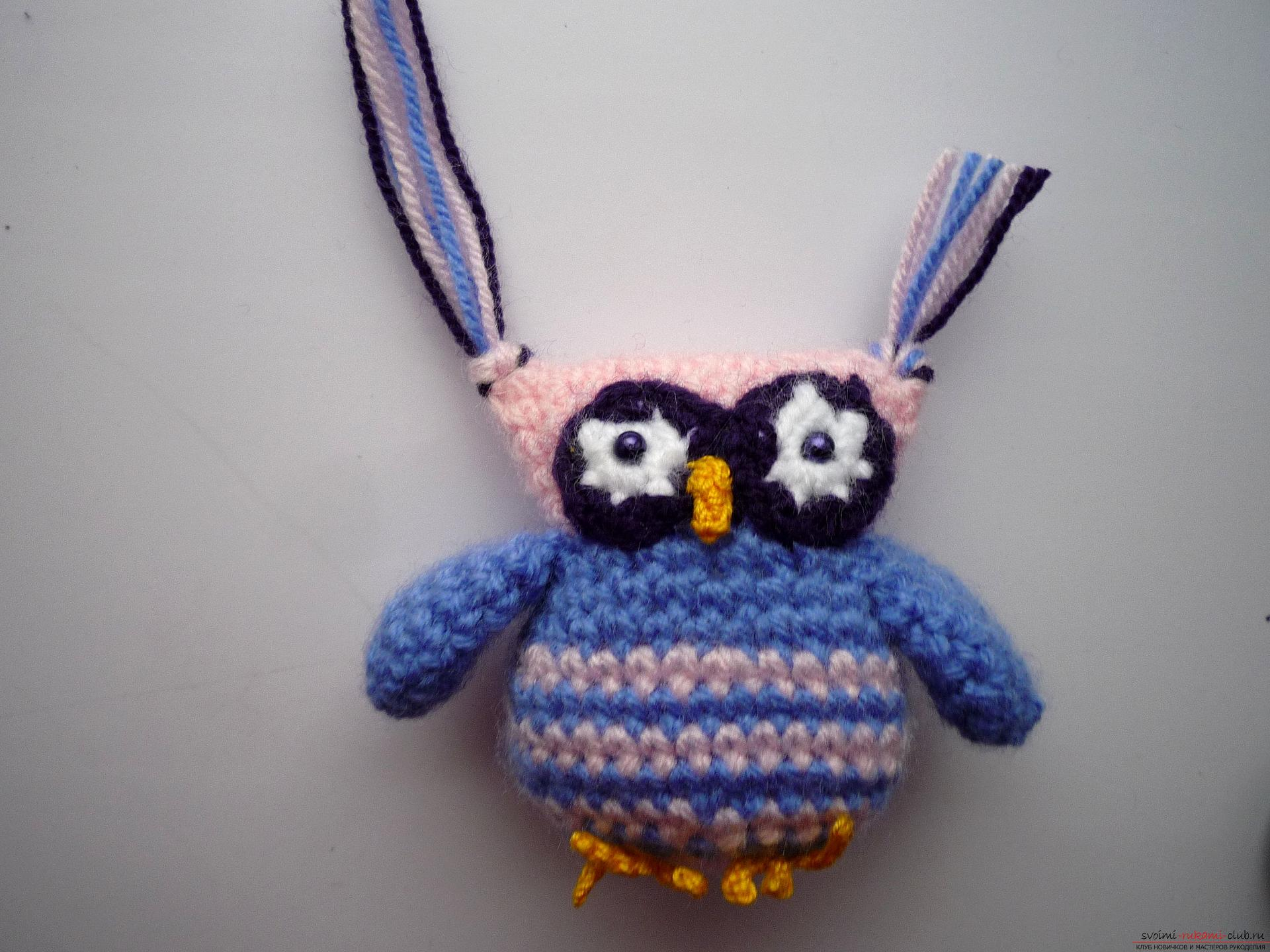 A detailed master-class will teach how to crochet a toy - an amenity in the amigurumi style. Photo Number 18