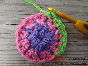 We knit crochet in a circle: tips for beginners. Photo Number 11