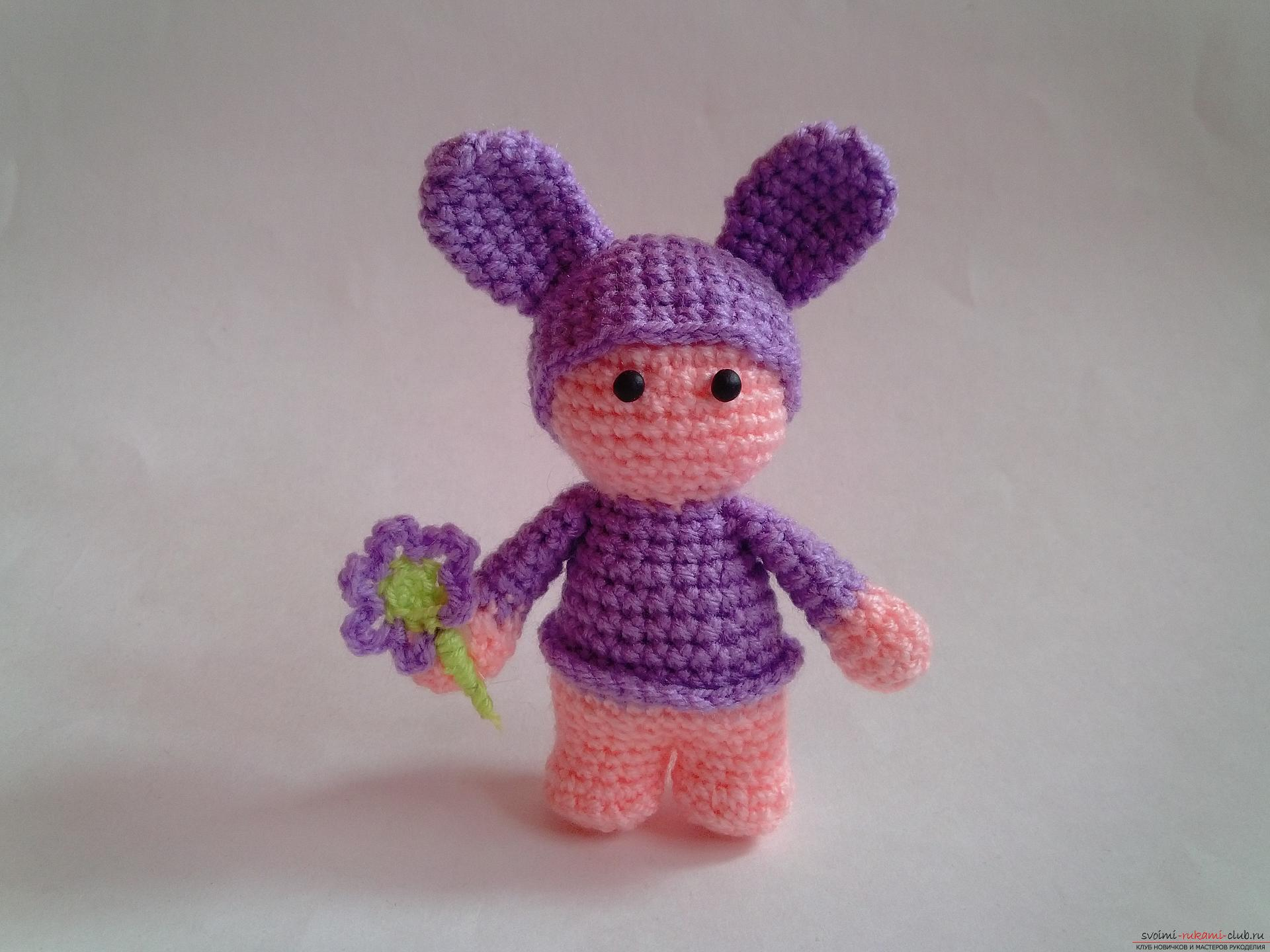 How to tie a toy crochet