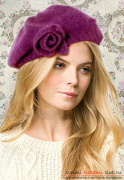 How to tie a hat, knitting hats with knitting needles, patterns and patterns for hats, patterns for knitted hats, detailed descriptions, charts, photo examples, recommendations .. Photo # 16