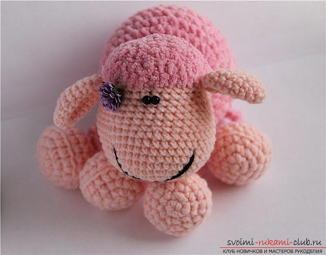 Tie the lamb amigurumi with your own hands using the hook: step-by-step description and photo. Photo # 2