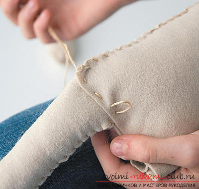 Instructions for making dolls with their own hands .. Photo №6