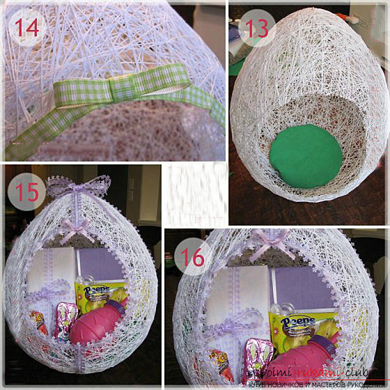 Easter crafts, crafts for the Passoverhands, crafts for Easter for children, how to decorate the Easter egg with their own hands, festive decor, Easter compositions, Easter door-bellies .. Photo # 21