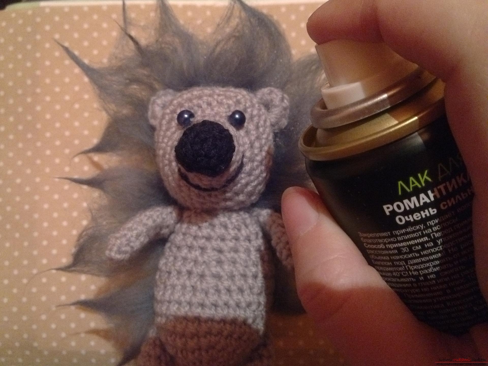 Photo to a lesson on crocheting a funny hedgehog. Photo №8