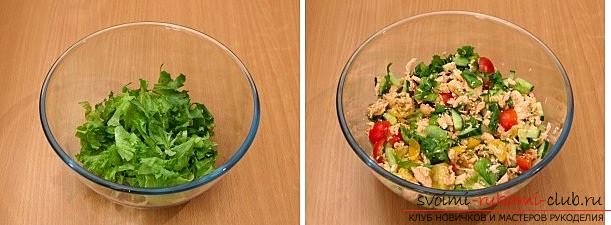 How to cook, and most importantly, to decorate a salad for the New Year's celebration, recipes with step-by-step photos and a description of the work. Photo №13