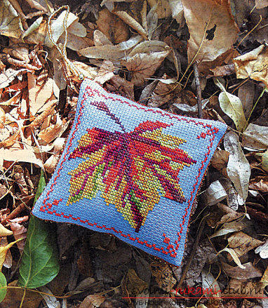 Autumn novelties embroidery cross your own hands easily and quickly. Photo №4