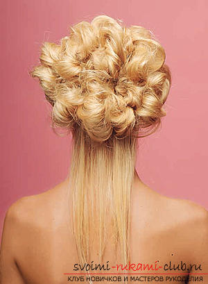 How to make an interesting wedding hairstyle for medium hair with your own hands. Picture №30