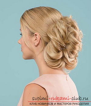 We learn to make a hairdo for the wedding with our own hands. Photo №26