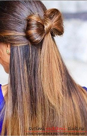 Interesting and trendy hairstyles for long hair for 2016 with their own hands. Photo Number 14