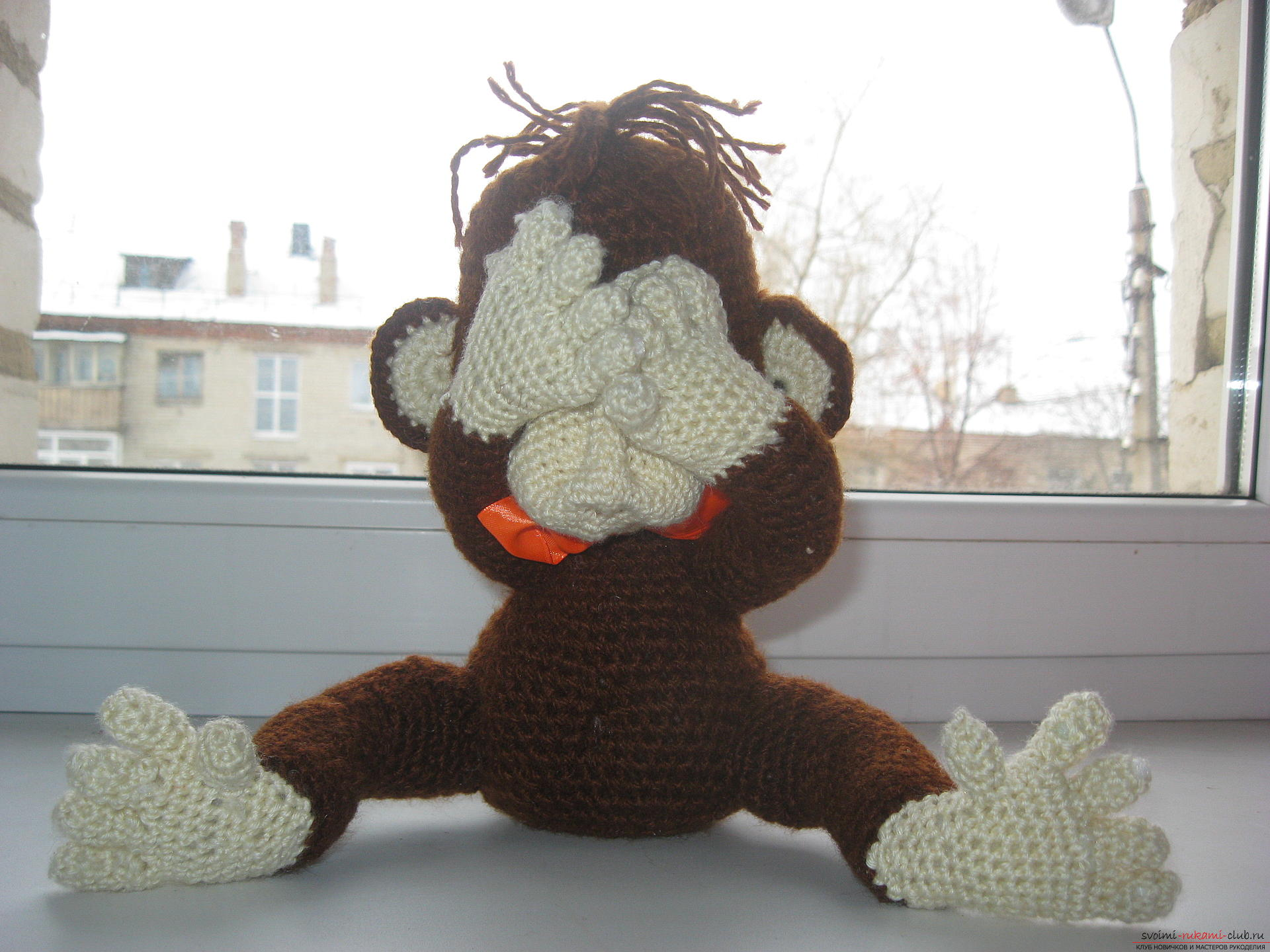 In this master class you will learn the idea of ​​crafting for the new year - a monkey with your own hands. Photo # 2