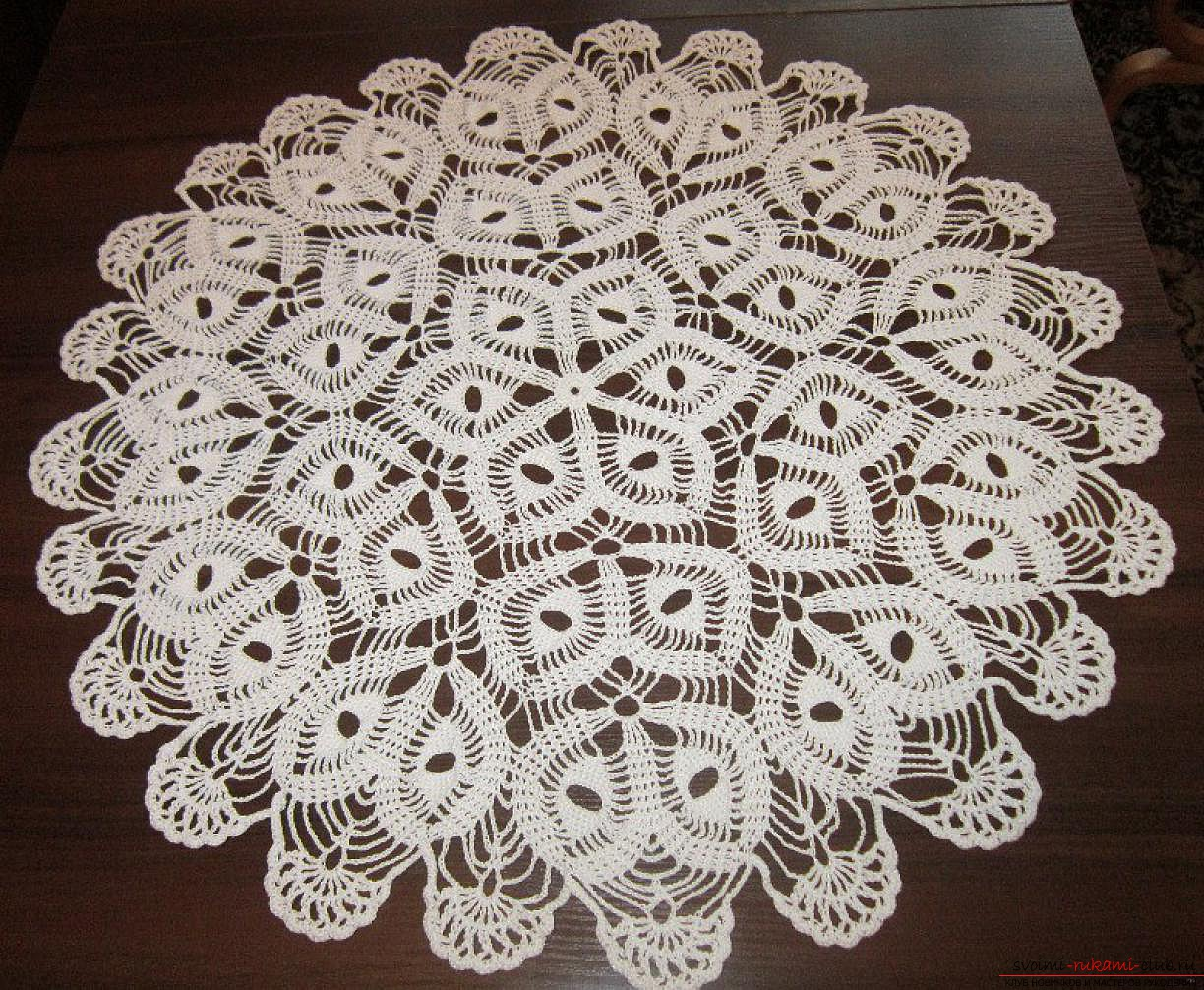 crocheted air patterns. Photo # 2