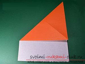 How to create crafts in the classic origami, creating a Christmas tree in the technique of modular origami .. Photo # 40