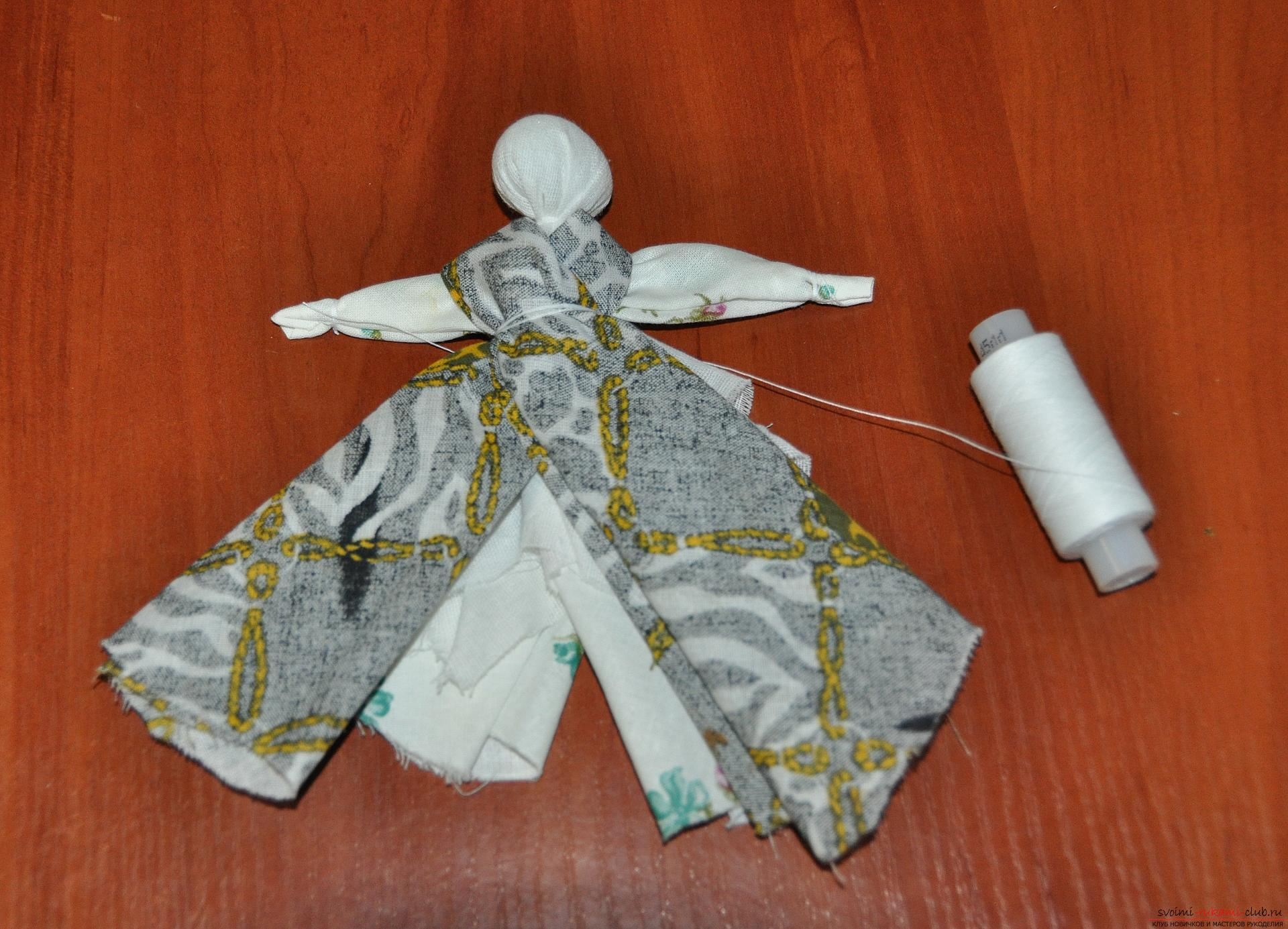 This master class will teach you how to make your own doll-bereginya - a pillar. Photo number 17
