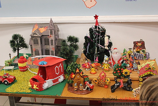 Beautiful solutions for crafts for the fire safety contest, photos .. Photo # 1