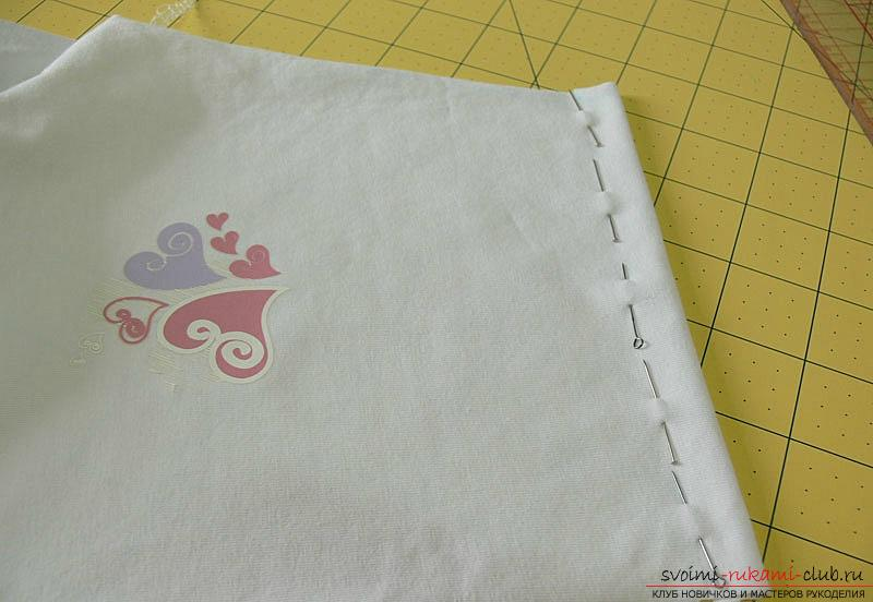 Pattern and sewing body for a newborn baby. Photo number 12