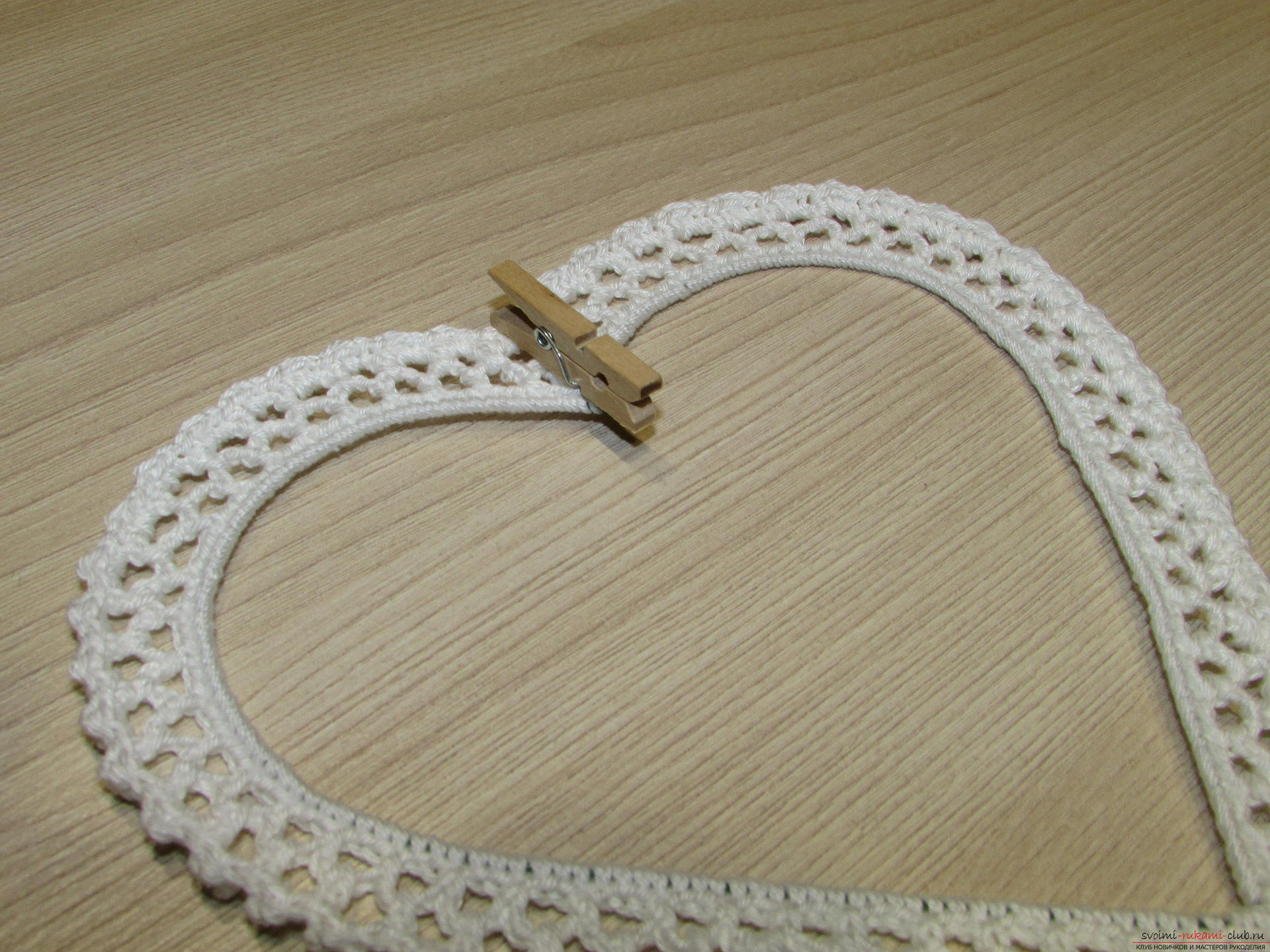 This master class on crochet will teach you how to create your own beautiful frame for your photos .. Photo # 10