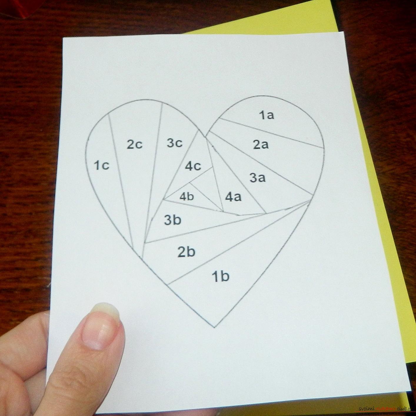 Deze masterclass leert je hoe je een kaart maakt met je eigen handen in de stijl van ayris vouwen .. Foto # 5