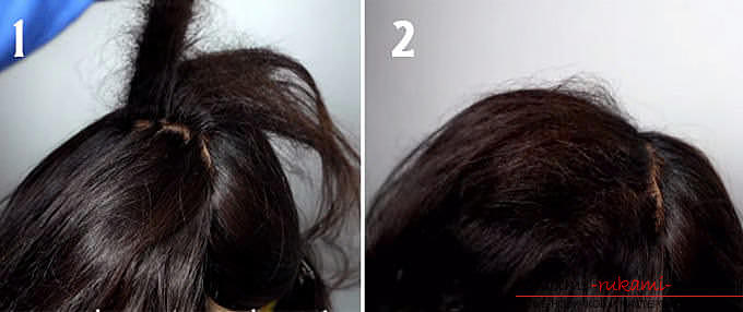 Master classes on creating hair styles for hair of medium length with their own hands. Photo Number 22