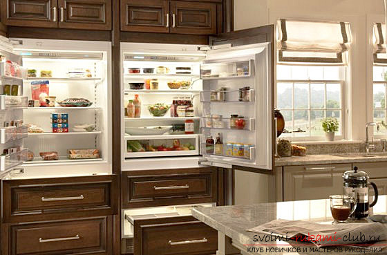 Photo examples of design of small kitchens. Picture №3