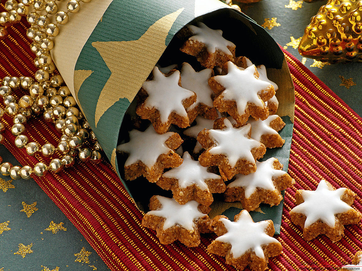 Christmas cookies for Santa Claus - pastry cookies with your own hands. Photo # 2