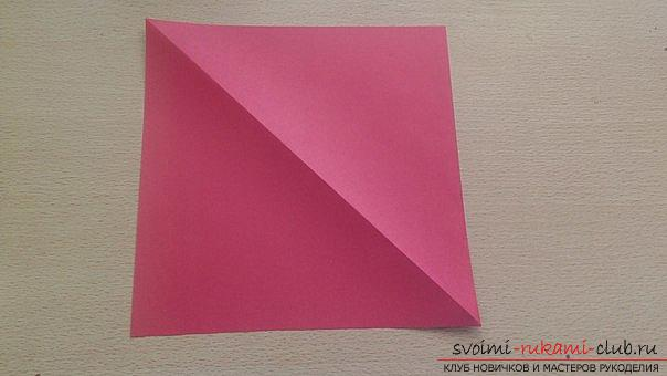 This detailed master-class contains an origami-dragon scheme made of paper, which you can make by yourself. Photo # 2